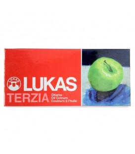 Lukas | Terzia комплект маслени бои 12 цвята (12 ml)