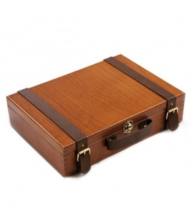 Sennelier | Artists' Extra-fine Комплект маслени бои в дървена кутия 12 цвята (40 ml)