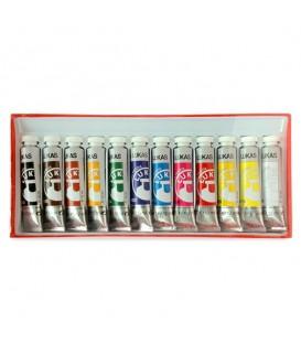 Lukas | Cryl Terzia Комплект акрилни бои 12 цвята (12 ml)