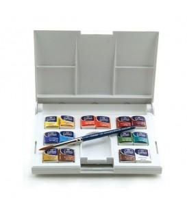 Winsor & Newton | Cotman Kомплект акварелни бои 14 цвята