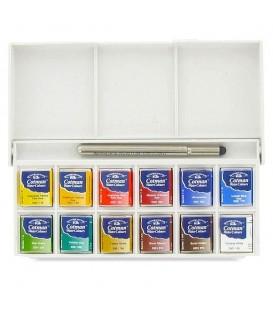 Winsor & Newton | Sketcher's Pocket  Комплект акварелни бои 12 цвята