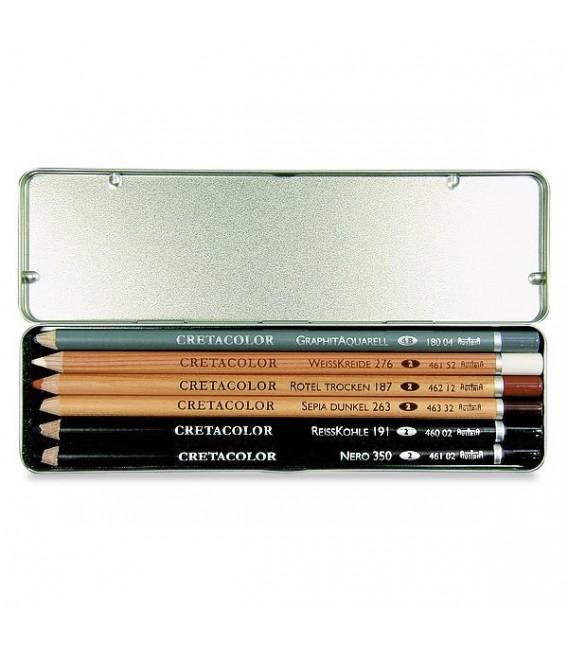 Cretacolor | Primo Комплект графитни моливи 6 броя