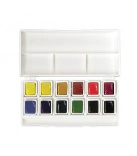 Lukas | Aquarell Studio Комплект акварелни бои 12 цвята