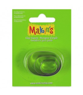 Makin's Shape Cutters Set of 3 - Oval