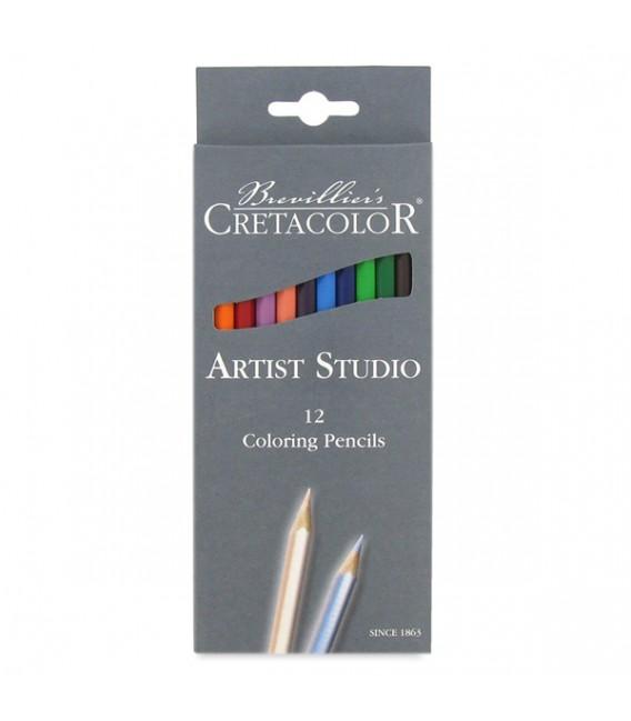 Cretacolor   Artist Studio Colored Pencil Set of 12