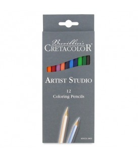 Cretacolor | Artist Studio Colored Pencil Set of 12