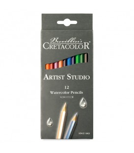Cretacolor Artist Studio Watercolor Pencil Set of 12