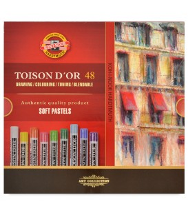 Koh-i-noor Toison d'Or Soft Pastels Set of 48