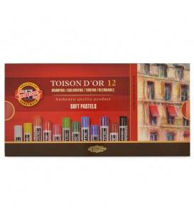 Koh-i-noor | Toison d'Or Сухи пастели 12 цвята