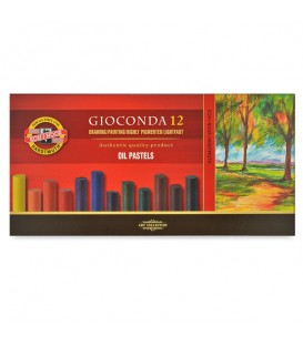 Koh-i-noor Gioconda Oil Pastels Set of 12