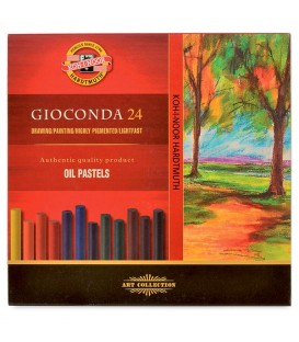 Koh-i-noor Gioconda Oil Pastels Set of 24