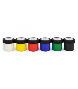 Nerchau | Готов микс плакатни бои 6 цвята (18 ml)