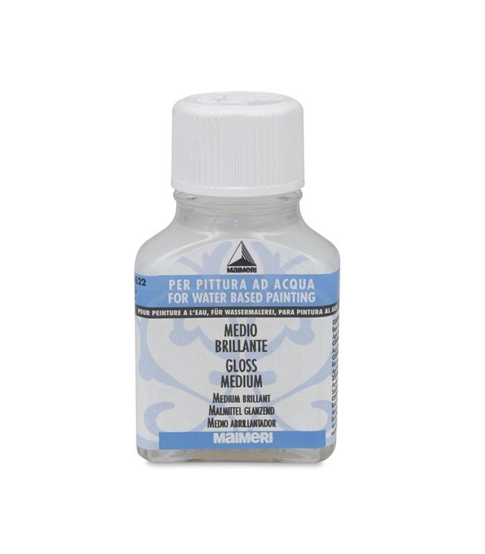 Maimeri 75 ml for Gloss medium for acrylic painting