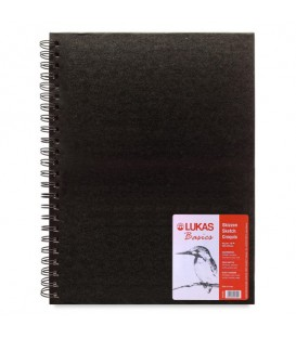 Lukas Basics Spiral Sketchbook 80 Sheets