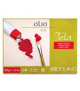 Fabriano Tela Oil Painting Pad 10 Sheets