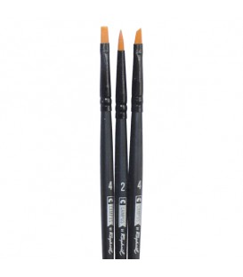 Raphael Campus Hobby and Craft Brushes Size S, Set of 3 pcs