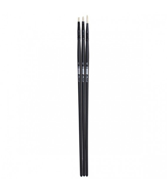 Raphael Campus Oil and Acrylic Brushes Size S, Set of 3 pcs