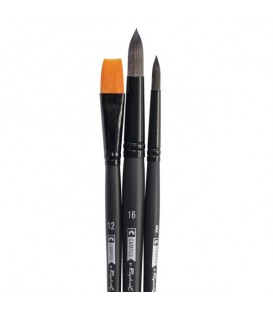 Raphael Campus Watercolour Brushes Size L, Set of 3 pcs