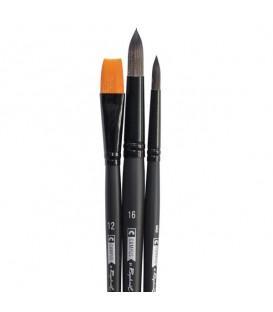 Raphael Campus Watercolour Brushes Size L, Set of 3 pcs