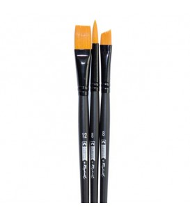 Raphael Campus Hobby and Craft Brushes Size L, Set of 3 pcs