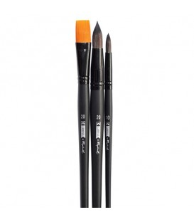 Raphael Campus Watercolour Brushes Size XL, Set of 3 pcs