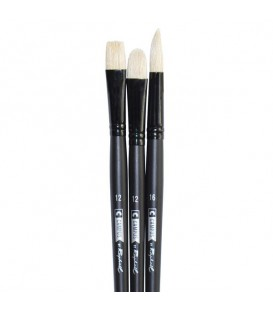 Raphael Campus Oil and Acrylic Brushes Size XL, Set of 3 pcs
