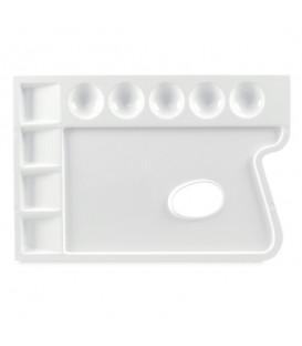 Lukas | Пластмасова правоъгълна палитра 170 x 250 mm