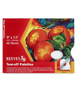 Reeves Tear Off Paper Palette 229 x 305 mm