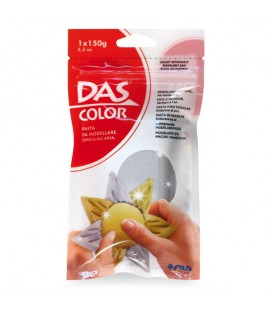 Das Color Air Drying Modelling Clay Silver 150 g