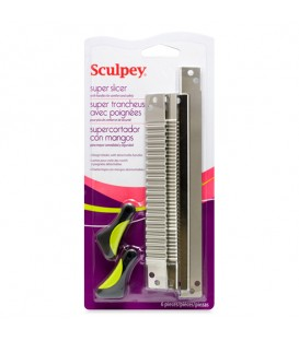Sculpey Super Slicer with 4 Different Blades and Comfort Handles