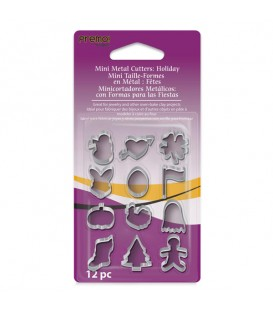 Sculpey Mini Metal Cutters - Holiday