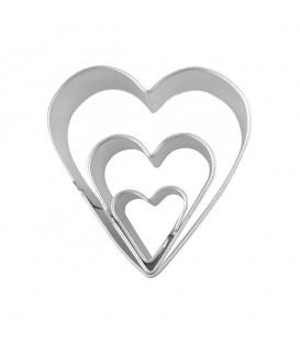 Makin's Shape Cutters Set of 3 - Heart