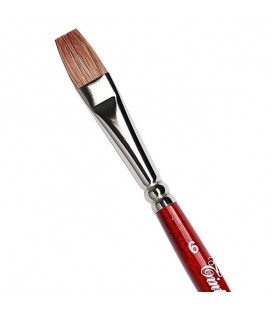 Flat Brush Tintoretto S990 Extra Ox Hair
