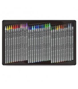 Koh-i-noor Progresso Woodless Aquarelle Pencils Set of 36 Colors
