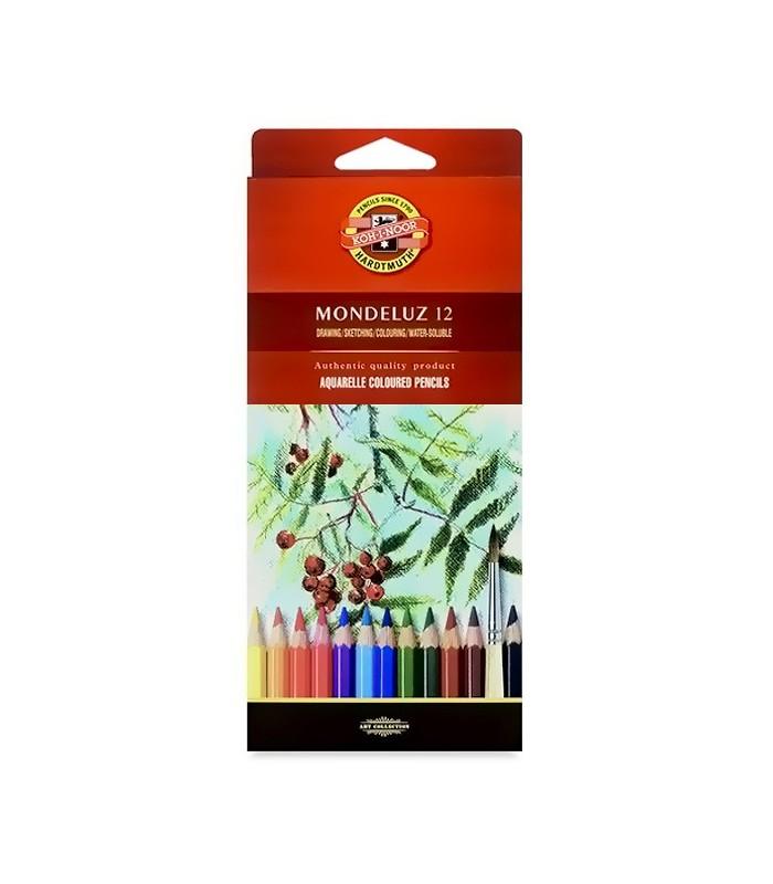 Koh I Noor Mondeluz Комплект акварелни моливи в
