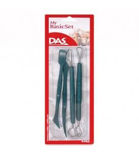 Das | Комплект от 4 пластмасови инструмента за моделиране