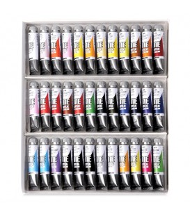Acrylic Paint Set One Acrylic by Maimeri 36 x 20 ml