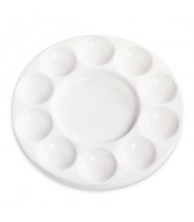 Tintoretto Porcelain Round Palette 180 mm 11 Mixing Wells