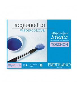 Fabriano Studio Torchon  Watecolour Pad 20 Sheets