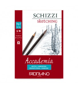Fabriano Schizzi Drawing Pad 50 Sheets 120gsm