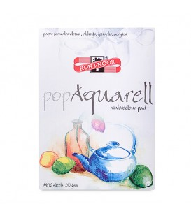 Koh-i-noor Pop Aquarell Watercolour Pad 10 Sheets 250 g/m²