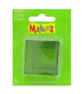 Makin's | Комплект от три форми за изрязване на квадрати