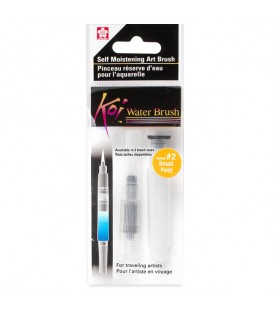 Round Water Brush S47 Synthetic Fiber