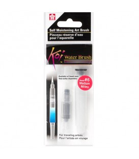 Round Water Brush Sakura Koi S47 Synthetic Fiber Size 6