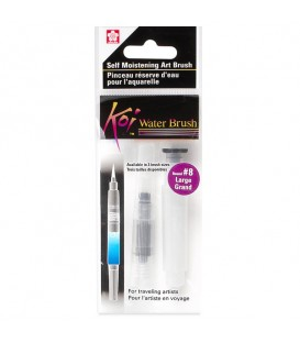 Round Water Brush Sakura Koi S47 Synthetic Fiber Size 8