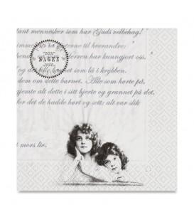 Decoupage Paper Napkin Sagen Vintage Design 33 x 33cm