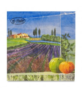 "Decoupage Paper Napkin Valley ""ti-flair"" 33 x 33cm"