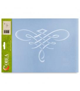 """Country Stencil for Decoration """"Ornament"""" Cobea 21 x 29,7 cm (A4)"""