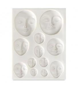 Sculpey | Шаблони за създаване на 3d форми – лица