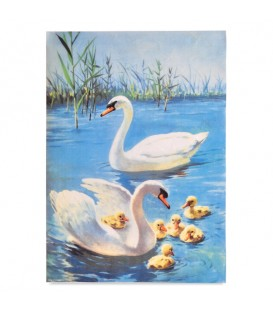 "Decorative Rice Paper ""Swans"" Cobea 30 x 40 cm 25 g / m²"